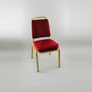 Banqueting Chair Executive  - Red Classic (G)