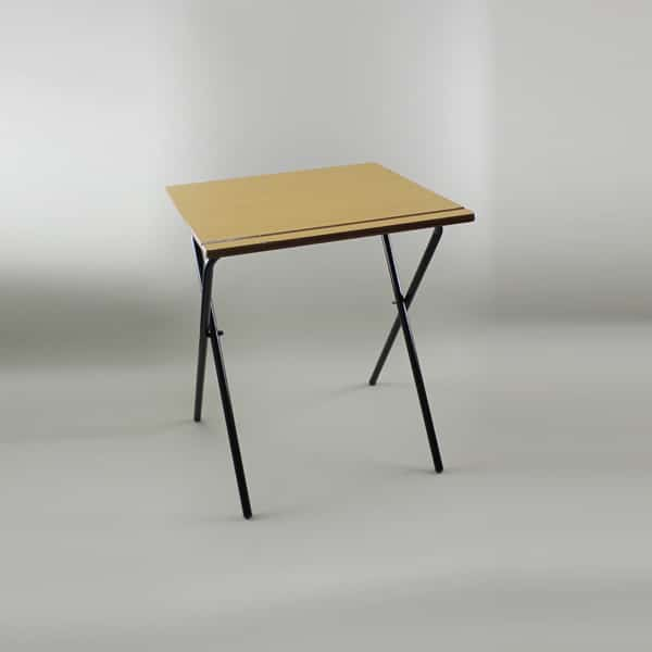2'Sq (60cm) Folding Exam Table, Wooden