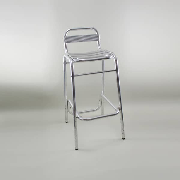 Bistro Bar Stool, Aluminium