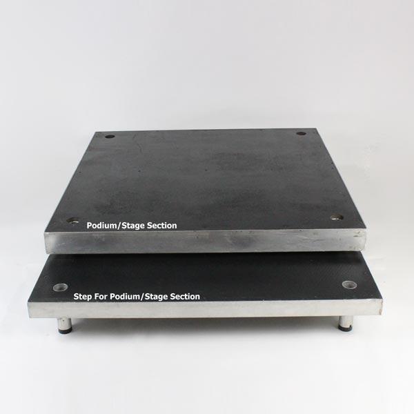 Stage Deck Step - 4'x1' (120x30cm)