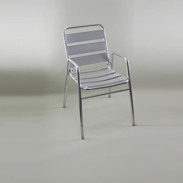Bistro Chair, Aluminium