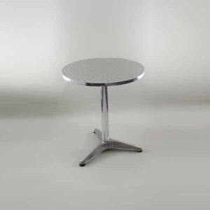 "24"" (60cm) Dia. Bistro Table, Aluminium"