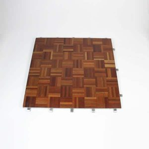"Parquet Dance Floor, Full Panel - 34""x34"" (86x86cm)"