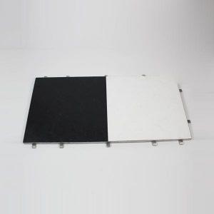 """Black & White Dance Floor, Full Panel - 48""""x24"""" (120x60cm)"""