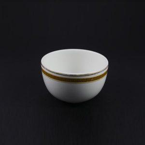"""Sugar Bowl 4"""", Greek Key - 1430"""