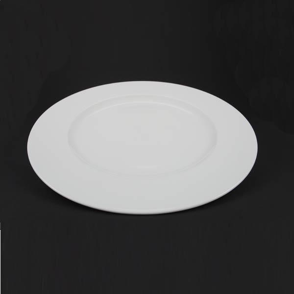 "China Dinner Plate - 12"" (30cm) Plain - 1611"