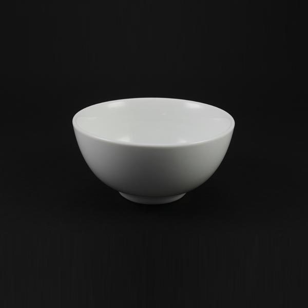 "Rice Bowl 4"" (10cm), Plain White - 1803"