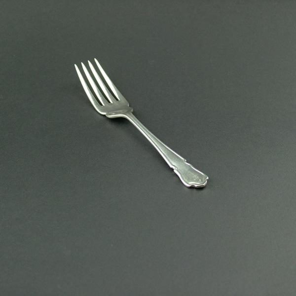 Fish Fork, Dubarry, Silver Plate - 2063