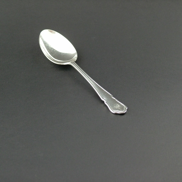 Dessert Spoon, Dubarry, Silver Plate - 2066