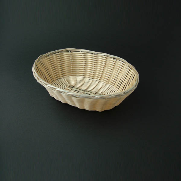 "Bread Basket 9"" (23cm), Round/Oval Wicker - 3850"