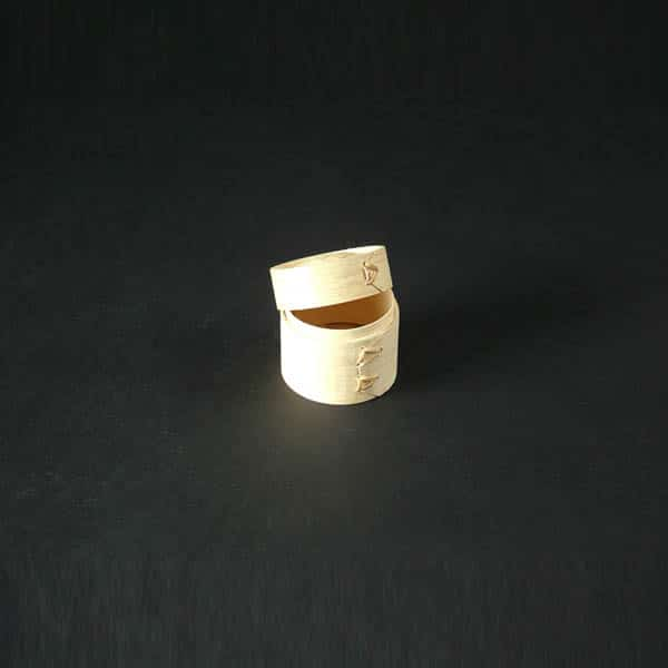"Dim Sum Basket/Lid 2&1/3"" Diameter (6cm Diameter) - 3851"