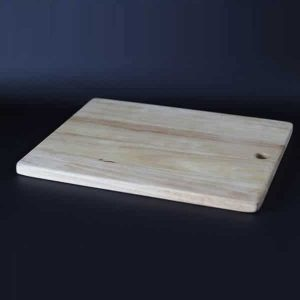 "Wooden Serving Board, Rectangular, 14x10x0.7"" (36x25.5x2cm) - 3860"