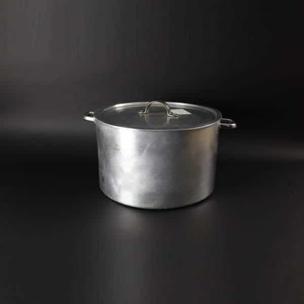 "Stockpot & Lid 48pt (23Ltr) - 14"" (36cm) Diameter, Aluminium - 4002"