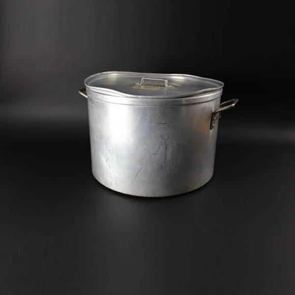 "Stockpot & Lid 60pt (28Ltr) - 16.5"" (42cm) Diameter, Aluminium - 4004"