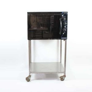 "Turbo Oven - Medium, 3 Shelves - Internal W18""xD15""xH16"" (46x38x41cm) - H56"" (144cm) on Stand, 3kW"