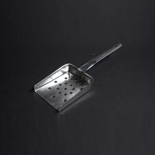 "11.5"" (29cm) Chip Scoop, Stainless Steel"