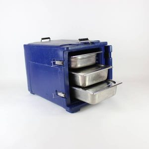 Melform Insulated Container - Blue, (Takes full gastronorms, deep and shallow)