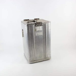 Grundy Bin, Square - Aluminium, (Takes 3 x Grundy Trays)