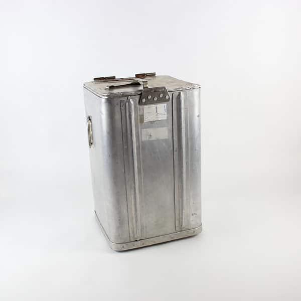 Grundy Bin, Square - Aluminium, (Takes 3 x Grundy Trays)