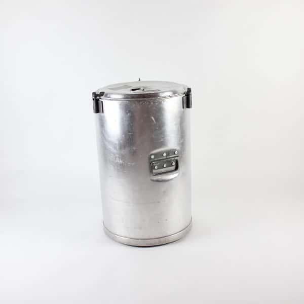 Grundy Bin, Round (Large) - Aluminium, 6 Gallon (23Ltr)