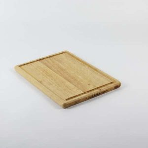 "Wooden Cutting Board, Grooved, 13.5""x10"" (35x25cm)"