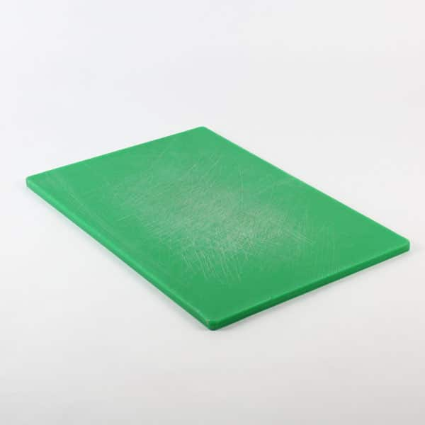 "Salad/Fruit Cutting Board, Green - 18""x12"" (45x30cm)"