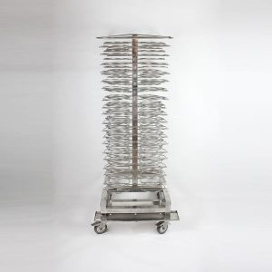 Jack Stand, 114 Plate Capacity - Stainless Steel