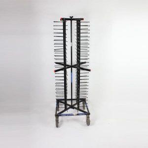 Jack Stand, 104 Plate Capacity - Black