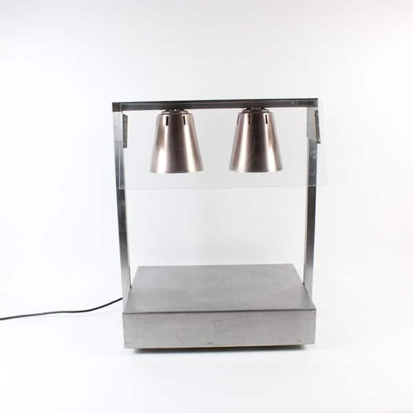 Carvery/Serving Display Unit, Solid Plate - 2 Lamp (3Kw)