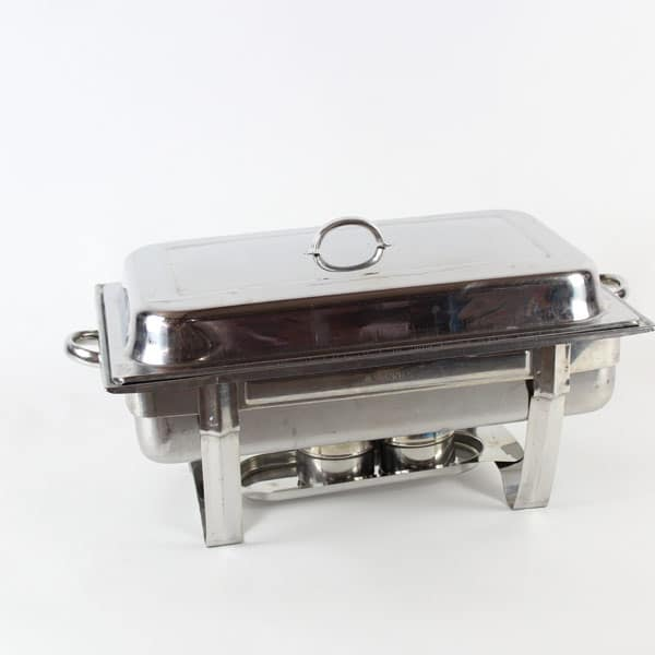 Chafing Dish Gel Type Rectangular Full Gastronorm