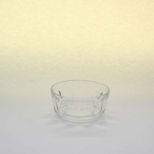 "4"" (10cm) Glass Bowl, Dimpled"