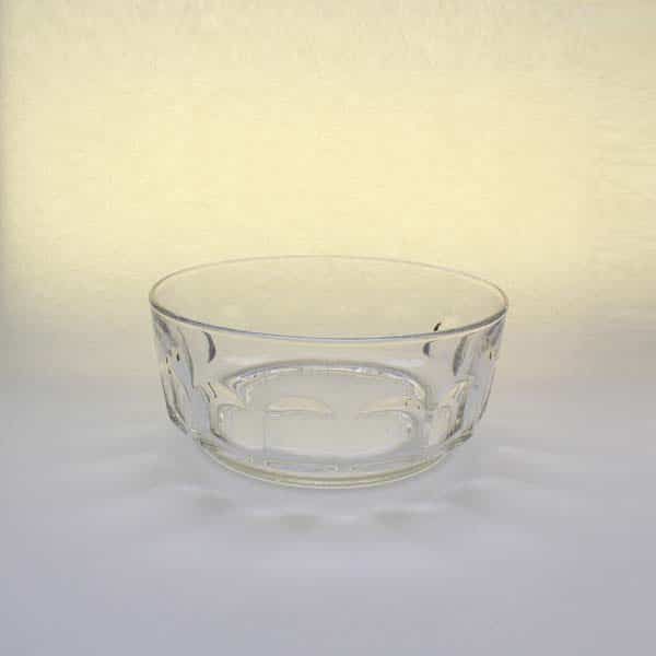 "8"" (20cm) Glass Bowl, Dimpled"