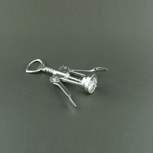 Corkscrew, Lever Type, Stainless Steel