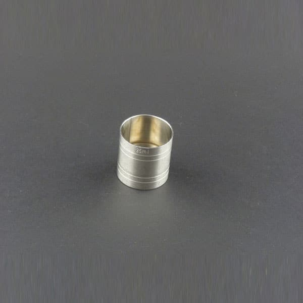 35ml (1.18oz) Hand Measure, Stainless Steel