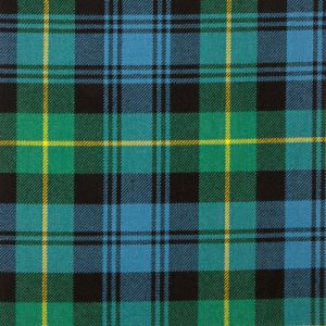 "70"" (178cm) Square Tablecloth, Tartan - Gordon"
