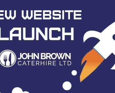 John Brown Cater Hire Website Launch