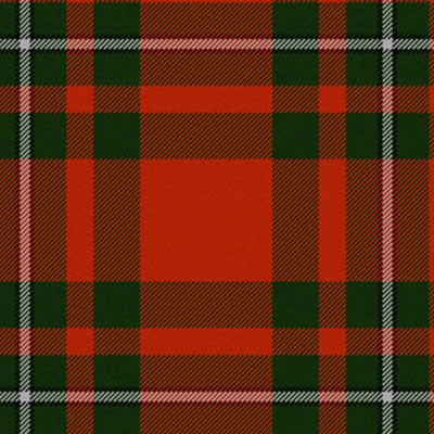 "19"" (48cm) Square Napkin, Tartan  - Red/Blue"